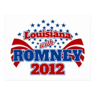 Louisiana with Romney 2102 Postcard