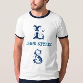 @LOUISSTYLEZ DE LT BLUE TEE DE LOUIS STYLEZ REMERAS