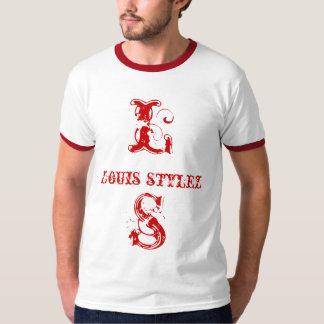 @LOUISSTYLEZ DE LT RED TEE DE LOUIS STYLEZ POLERA