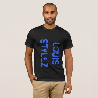 #LouisStylez SideWayz Black fan Tee