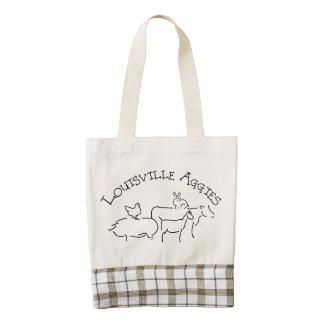 Louisville Aggies Tote Zazzle HEART Tote Bag