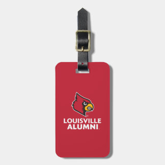 Louisville Alumni Luggage Tag