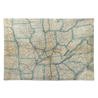 Louisville and Nashville Railroad 2 Cloth Placemat