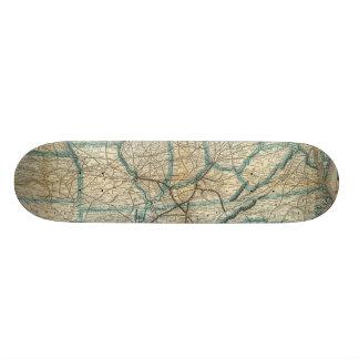 Louisville and Nashville Railroad 2 Skateboard Deck