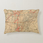 Louisville and Nashville Railroad Accent Pillow