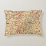 Louisville and Nashville Railroad Accent Pillow