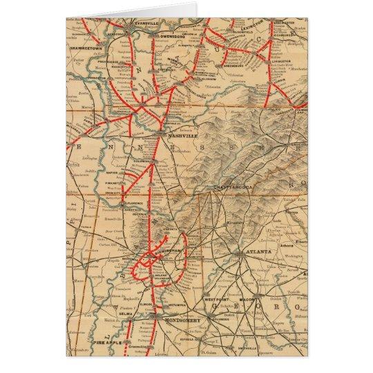 Louisville and Nashville Railroad Card