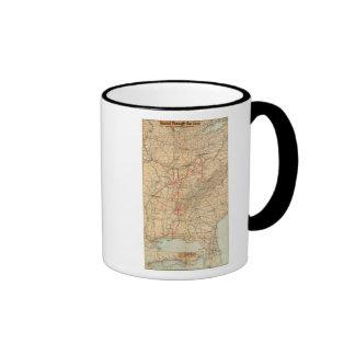 Louisville and Nashville Railroad Coffee Mug