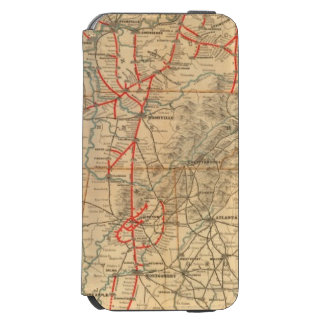Louisville and Nashville Railroad iPhone 6/6s Wallet Case