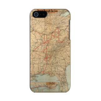 Louisville and Nashville Railroad Metallic Phone Case For iPhone SE/5/5s