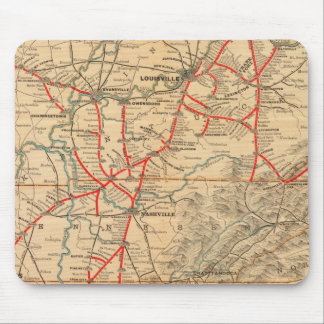 Louisville and Nashville Railroad Mousepad