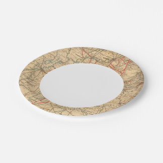 Louisville and Nashville Railroad Paper Plate