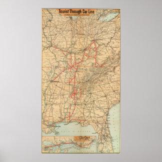 Louisville and Nashville Railroad Poster