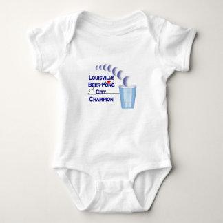 Louisville Beer Pong Champion Baby Bodysuit