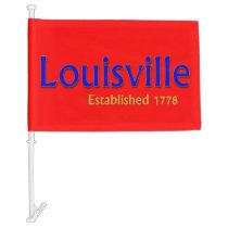 Louisville Car Flag