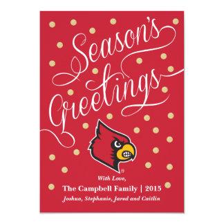 Louisville Cardinal Card