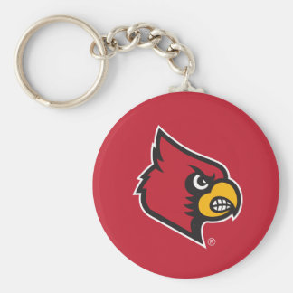 Louisville Cardinal Keychain