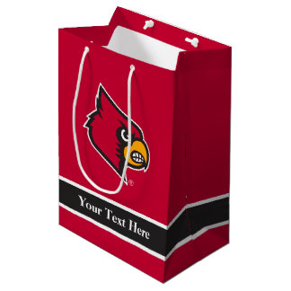Louisville Cardinal Medium Gift Bag