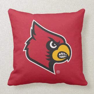 Louisville Cardinal Pillow