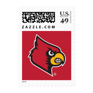 Louisville Cardinals - Red Stamps