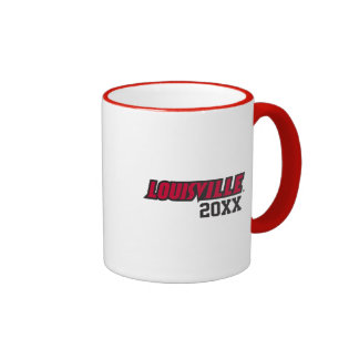 Louisville Class Year Ringer Coffee Mug