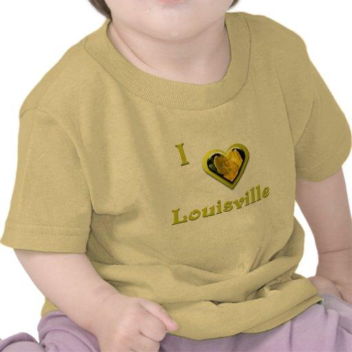 Louisville -- con la flor amarilla camisetas