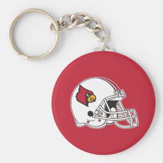 Louisville Football Helmet Keychain