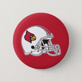 Louisville Football Helmet Pinback Button