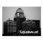 Louisville, impresión negra y blanca de KY - (post