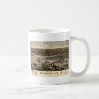 Louisville, Kentucky in 1876 Coffee Mugs