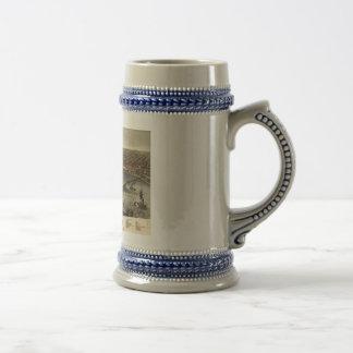 Louisville, Kentucky in 1876 Coffee Mug