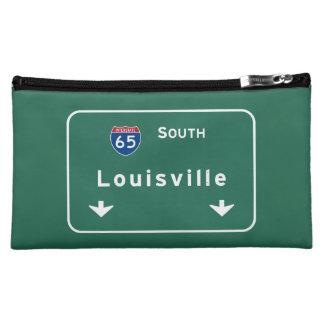 Louisville Kentucky kt Interstate Highway Freeway Makeup Bag