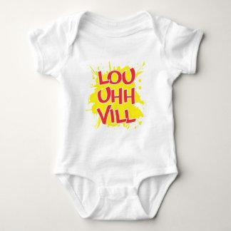 Louisville, Kentucky Lou Uh Ville Louie Ville KY Baby Bodysuit