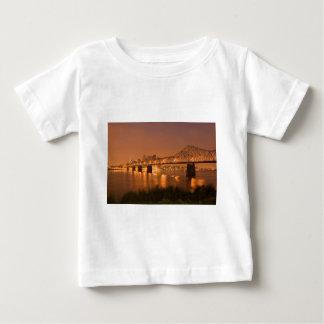 Louisville Kentucky Night Lights Bridge Ohio River Infant T-shirt