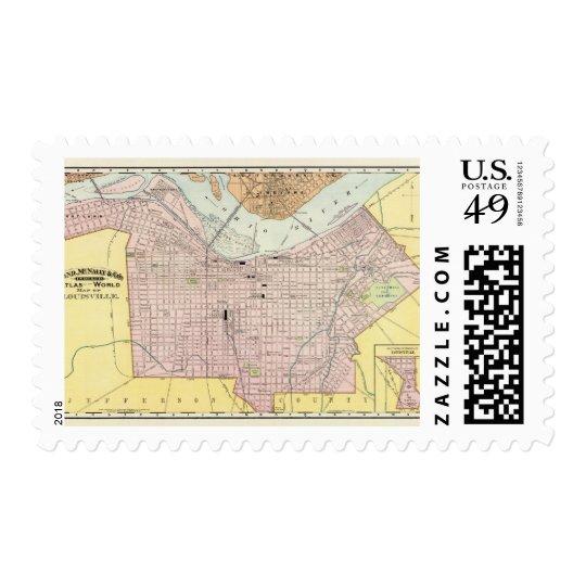 Louisville, Kentucky Postage