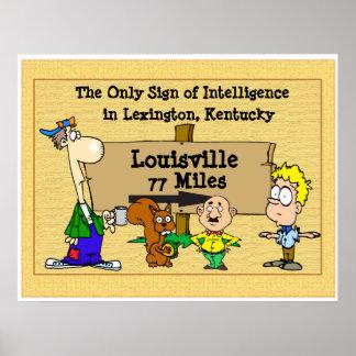 Louisville Kentucky. Poster