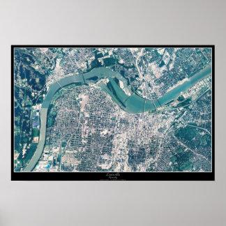 Louisville, Kentucky satellite poster
