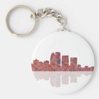 Louisville Kentucky Skyline Keychain