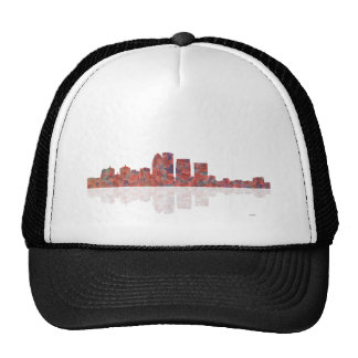 Louisville Kentucky Skyline Trucker Hat