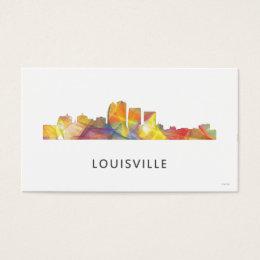 Louisville kentucky business cards templates zazzle louisville kentucky skyline wb1 business card colourmoves