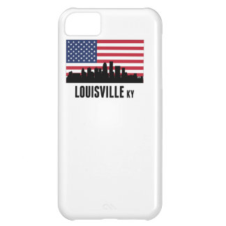 Louisville KY American Flag Case For iPhone 5C