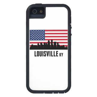 Louisville KY American Flag Case For iPhone SE/5/5s