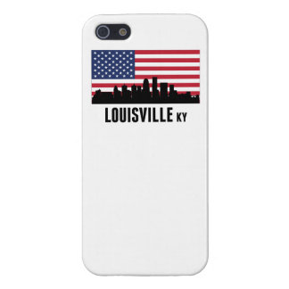 Louisville KY American Flag Cover For iPhone SE/5/5s