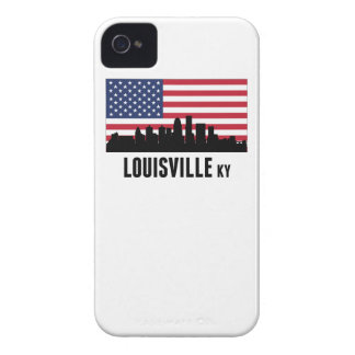 Louisville KY American Flag iPhone 4 Cover