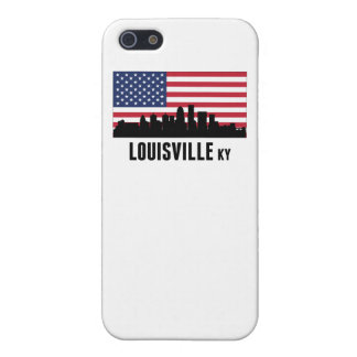 Louisville KY American Flag iPhone SE/5/5s Case