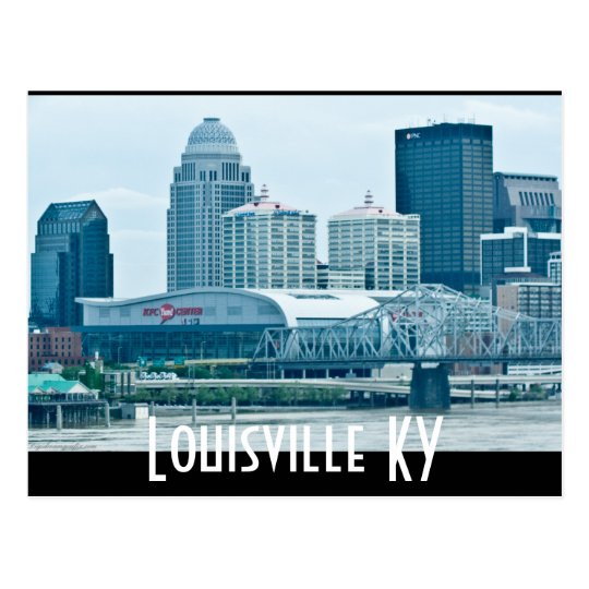 Louisville KY Postcard
