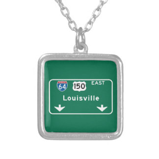 Louisville, KY Road Sign Jewelry