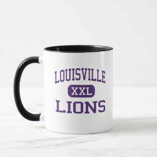 Louisville - Lions - High - Louisville Nebraska Mug