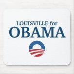 LOUISVILLE para el personalizado de Obama su ciuda Tapete De Raton