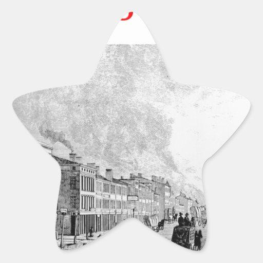 Louisville Pegatina En Forma De Estrella